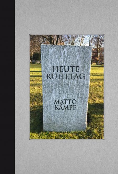 Matto Kämpf: «Heute Ruhetag»
